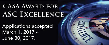 ASC Excellence Award Photo