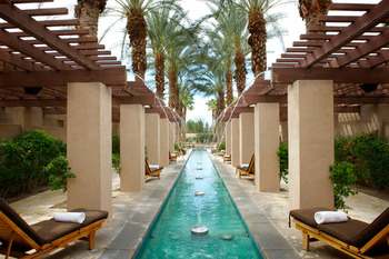 Indian Wells Spa Reflection Pool